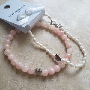 $5 ADD ON Pretty Heart Bracelets